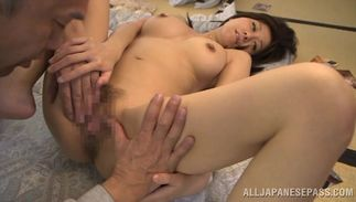 Topnotch bosomed diva Chihiro Akino needs a good fuck on a every single day basis from pal