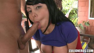 Angelic girl Sandra with great tits is ready for a lengthy sex session