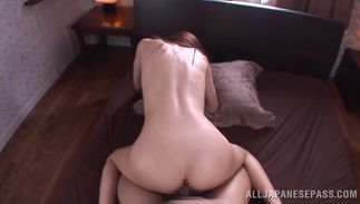 Magnificent bosomed bimbo JULIA is in a doggy position while hunk is drilling her fanny with pleasure