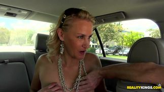 Mate likes to share anything including a rock hard dink to a swingeing blond bombshell Valerie Rose with huge tits