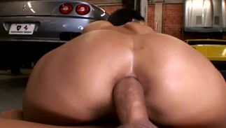Engaging Carmella Bing with curvy melons getting her juicy sissy rocked the raw way