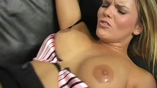 Horny bosomed Mackenzee Pierce getting boned so unfathomable